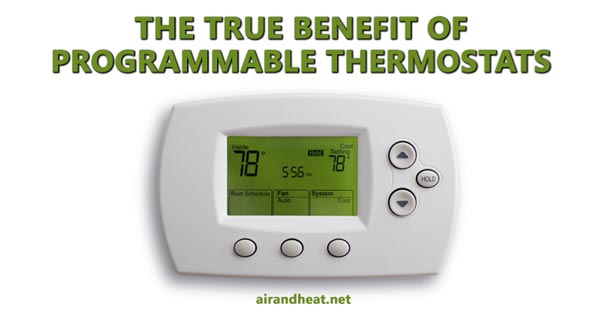 Can I Save Money With A Programmable Thermostat