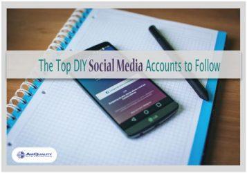 The Top DIY Social Media Accounts to Follow